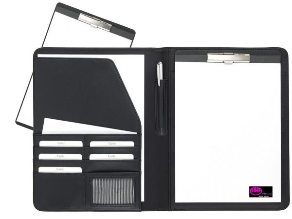 Schreibmappe mit Klemmbrett