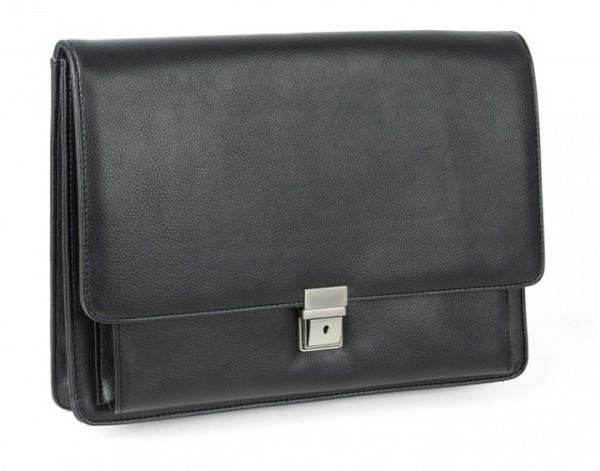 Kollegemappe Lederähnliches Felina-Material, schwarz excl. Marke EuroStyle