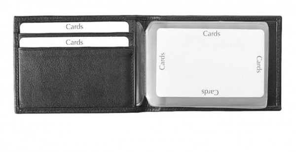 Kreditkartenetui Pelli-Rindnappa, schwarz excl. Marke EuroStyle