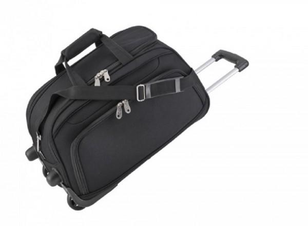 Rollenreisetasche, groß Polyester, schwarz