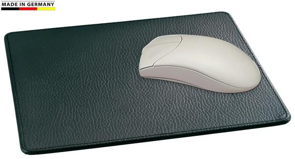 Mousepad Leder schwarz