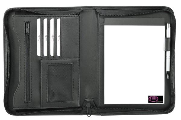 schreibmappe-a5-kunstleder-schwarz-kaufen
