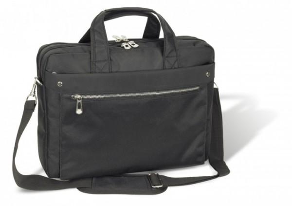 Laptoptasche strapazierfähiges Polyester schwarz - excl. Marke EuroStyle
