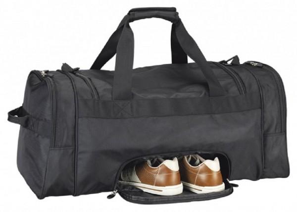 Sporttasche 1680 Polyester, schwarz