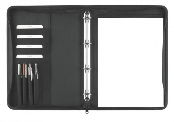 Ringbuchmappe A4 mit Reißverschluss excl. Marke EuroStyle