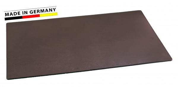Schreibtischunterlage Leder dunkelbraun