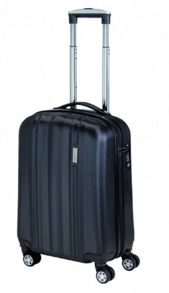 ABS- Trolley, ABS- Material, schwarz, in 3 Größen